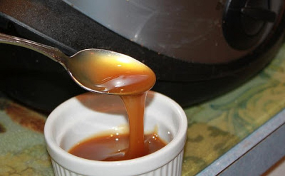 Slow Cooker Dulce de Leche Homemade