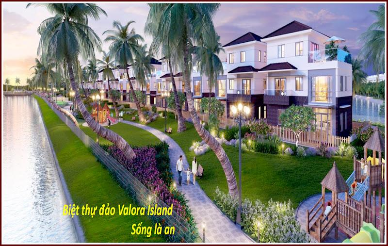 Biệt thự đảo Valora Island khu căn hộ Mizuki Park