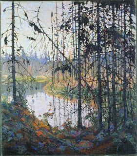 Tom Thomson painting - Northern River