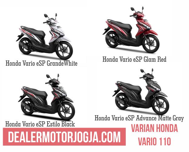 Promo Harga Terbaru Cash - Kredit Honda Vario 110 Esp November 2016 Jogja