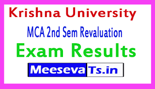 Krishna University MCA 2nd Sem Revaluation Exam Results