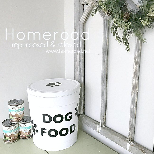 Recycled Dog Food Container