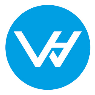 "Download now ""WH"" letter mark and wordmark logo for your brand, company, or your website"