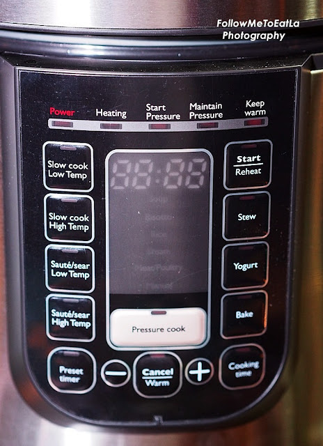 5 Types Of Cooking Functions All In The Philips All-In-One Pressure Cooker