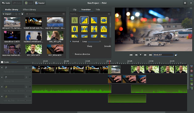 PiTiVi editor di video gratis