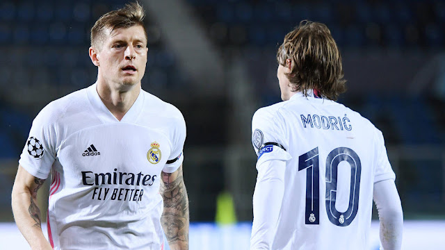 Toni Kroos and Luka Modric are one of the best midfield pairings in the history of Real Madrid