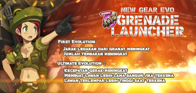 Granade Launcher Evolution Lost Saga Indonesia