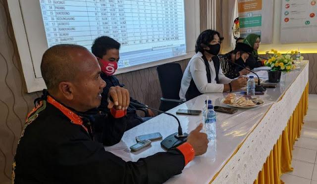 KPU Lumajang Tetapkan Data Pemilih Berkelanjutan