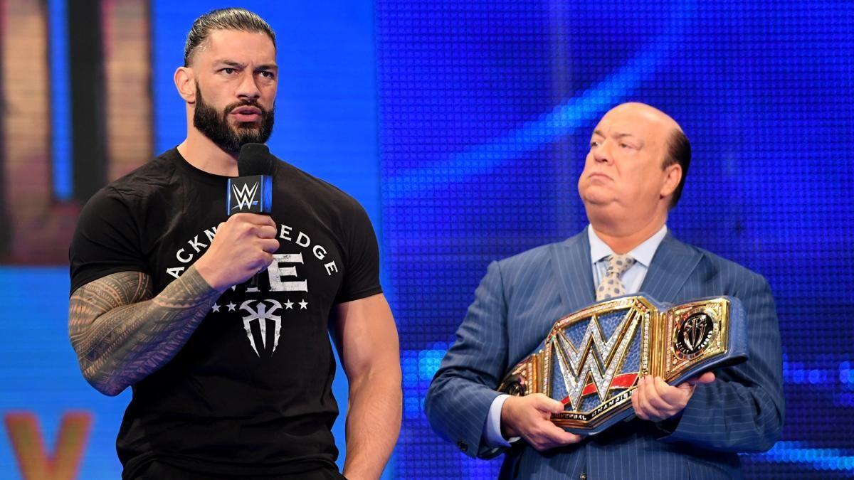 Roman Reigns é o único lutador no main roster da WWE a vencer todas as lutas em 2021