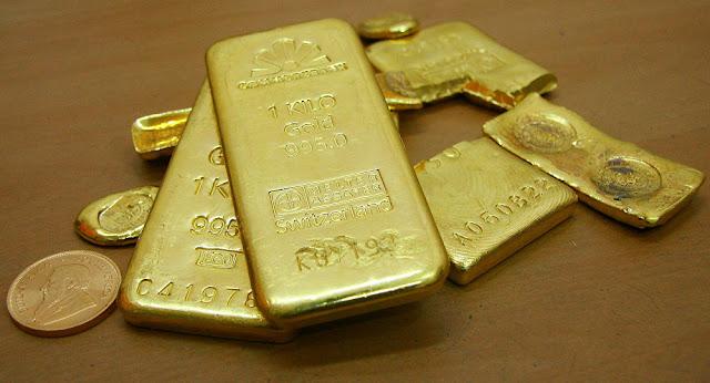 أسعار الذهب تواجه تقلبات شديدة بفعل كورونا
