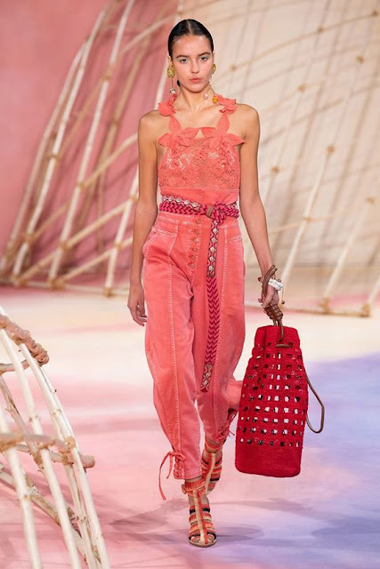 Crochet Bags & Shoes on the Runway