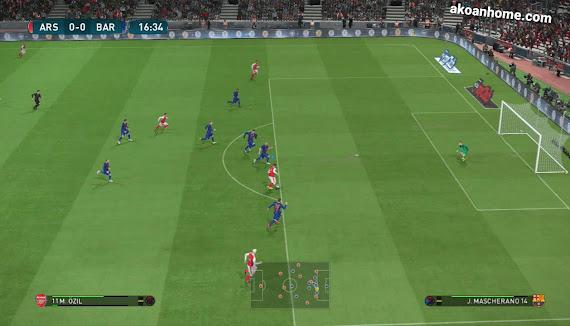 تحميل لعبة بيس برو إيفولوشن سكور 2017 PES للكمبيوتر برابط مباشر