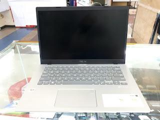 Laptop ASUS M409DA RAM 4GB HDD 1TB Silver AMD Athlon Seken Mulus Fullset