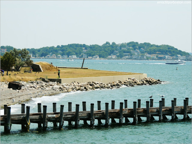 Boston Harbor Islands: Puerto de Georges Island