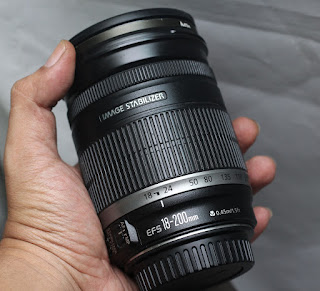 Jual Canon 18-200mm IS EFS f3.5-5.6