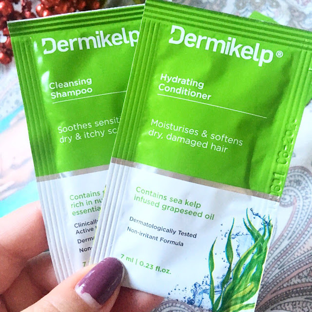 Dermikelp shampoo and conditioner