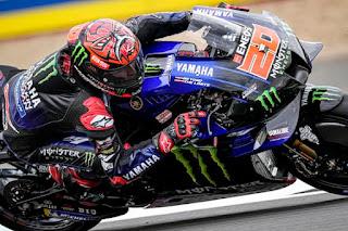 Hasil MotoGP Inggris 2021: Quartararo Juara, Podium Utama Bagi Aprilia