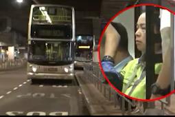 Enggan membayar, penumpang memukul  sopir bus wanita di Tseung Kwan O