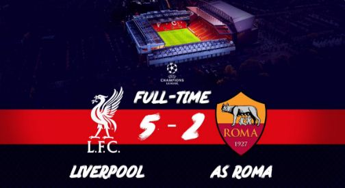 cuplikan gol liverpool vs as roma