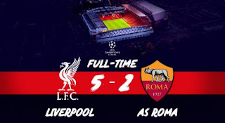 Liverpool vs AS Roma 5-2 Video Gol Highlights - Liga Champions