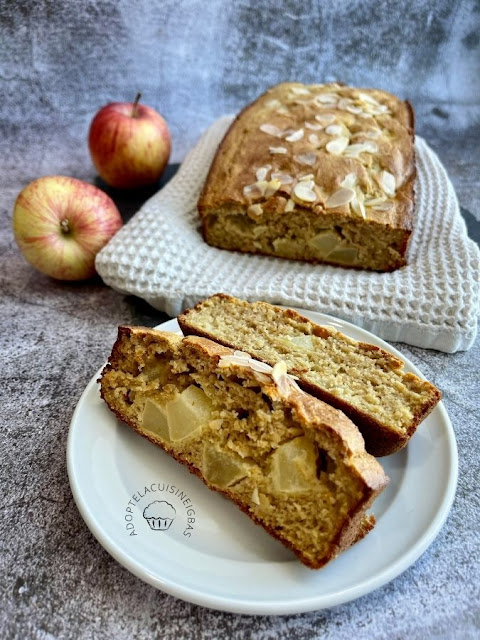 Cake léger pomme coco - Recette facile - IG bas
