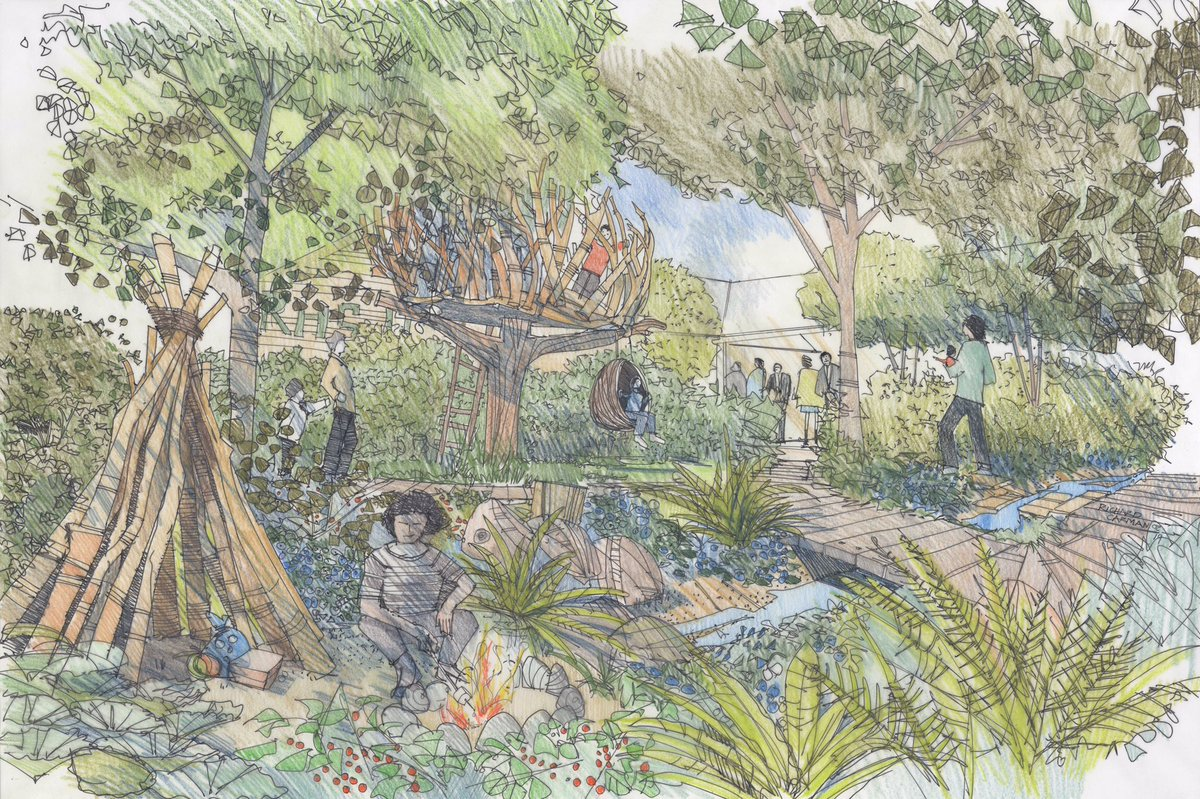 The Duchess of Cambridge's Back to Nature Garden