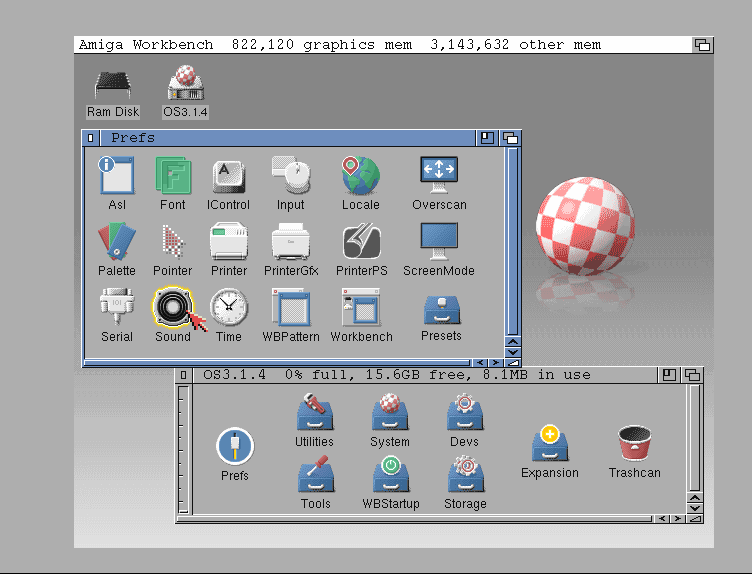 Indie Retro News: AmigaOS 3 1 4 & BestWB 1 0 - Amiga operating