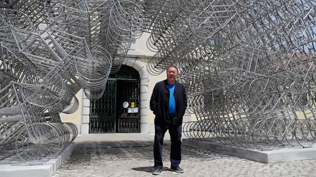 Seniman China, Ai Weiwei Pilih Portugal Jadi 'Rumah' untuk Pameran Terbaru.lelemuku.com.jpg