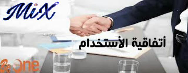 اتفاقيه الاستخدام