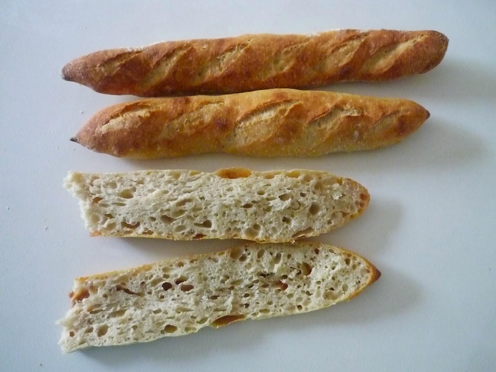 Baguettes harina trigo duro