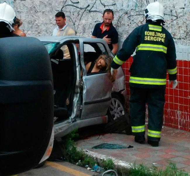 Eliza Clivia morre em acidente em Aracaju Foto: Reprodução