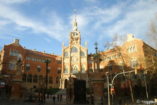 L'ospedale in stile Modernista de la Santa Creu i de Sant Pau