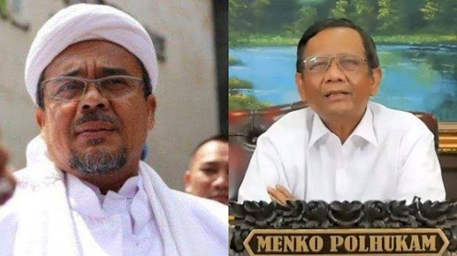 Mahfud MD Buka Kartu Soal 'Perasaan' Jokowi ke Rizieq Shihab