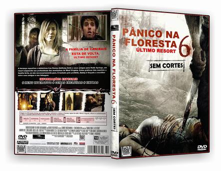 DVD - Pânico Na Floresta 6 - ISO