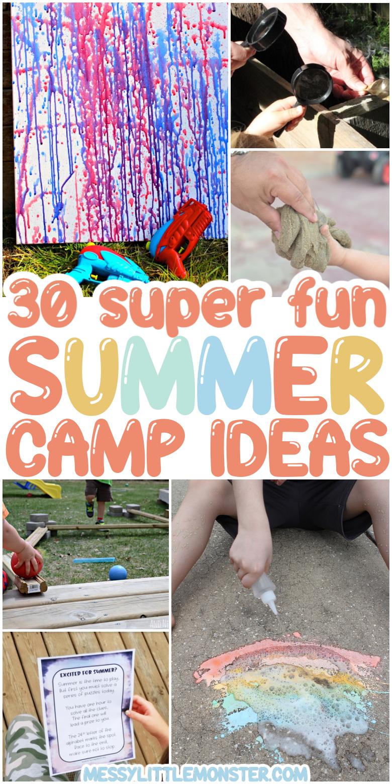Summer camp ideas - summer camp activities