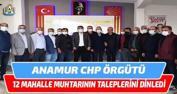 CHP ANAMUR,Durmuş Deniz,Anamur Haber,