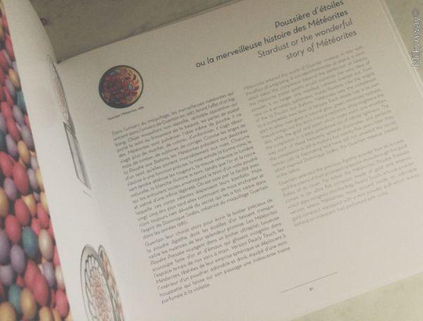Chapitre sur les Météorites de Guerlain dans Éloge du Teint des éditions Gourcuff Gradenigo