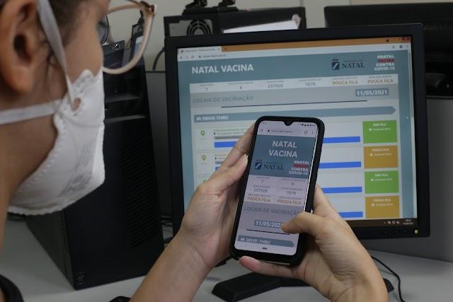 Plataforma digital sobre vacinação Covid-19 registra mais de 50 mil  acessos em primeiro mês