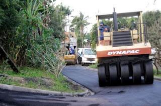 Bairro Arapongal em Registro-SP recebe obras de pavimentação