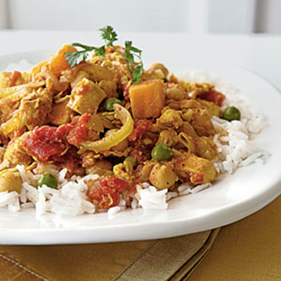Sweet Potato Chicken Curry