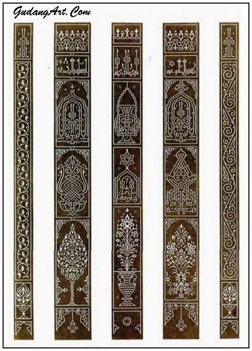 pola+ornamen+islam