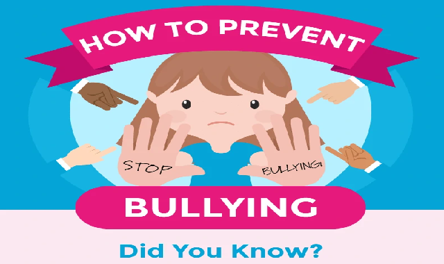 How to Prevent Bullying Did You Know? #infographic