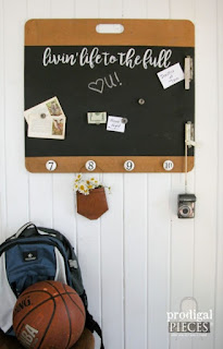DIY Magnetic Message Board