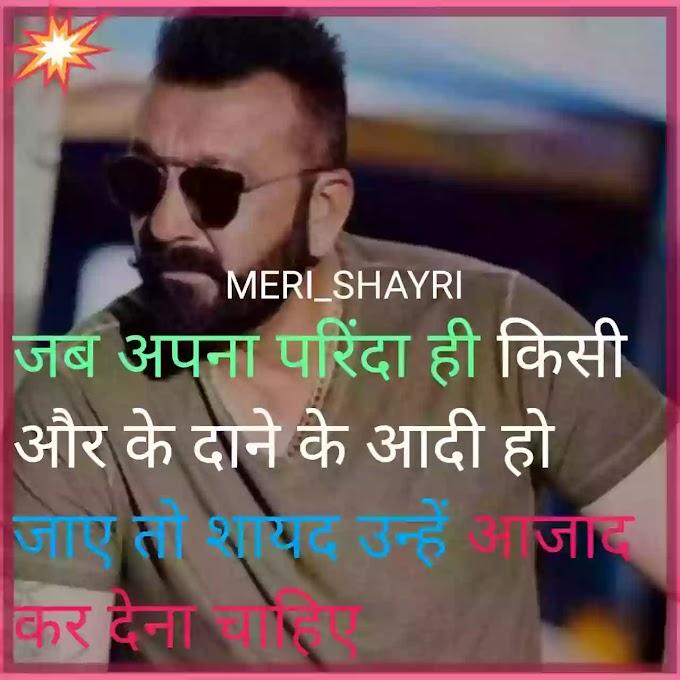 परिंदा attitude shayri in hindi