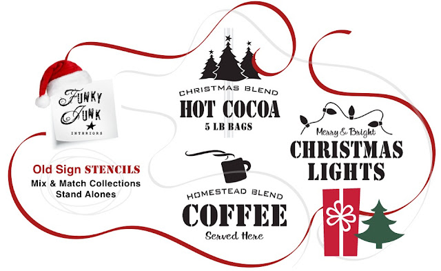 Christmas Blend Hot Cocoa Sign www.homeroad.net