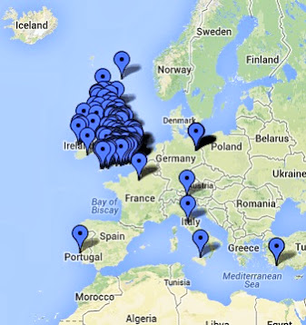 Explore our boutique hotels map
