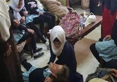 إصابة-11-طالبة-بمدرسة-ثانوية-باختناق-كالتشر-عربية