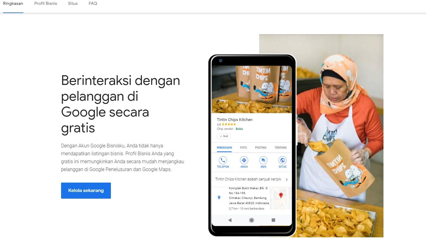 Daftar Google Bisnisku