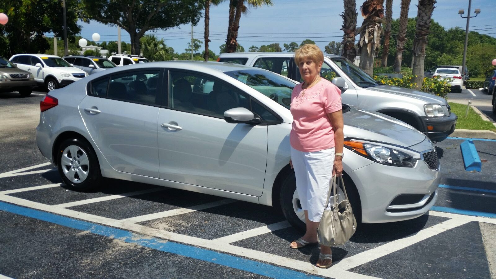 Kia Fort Pierce >> Bev Smith Kia Congratulations To Helen Porcaro From Bev
