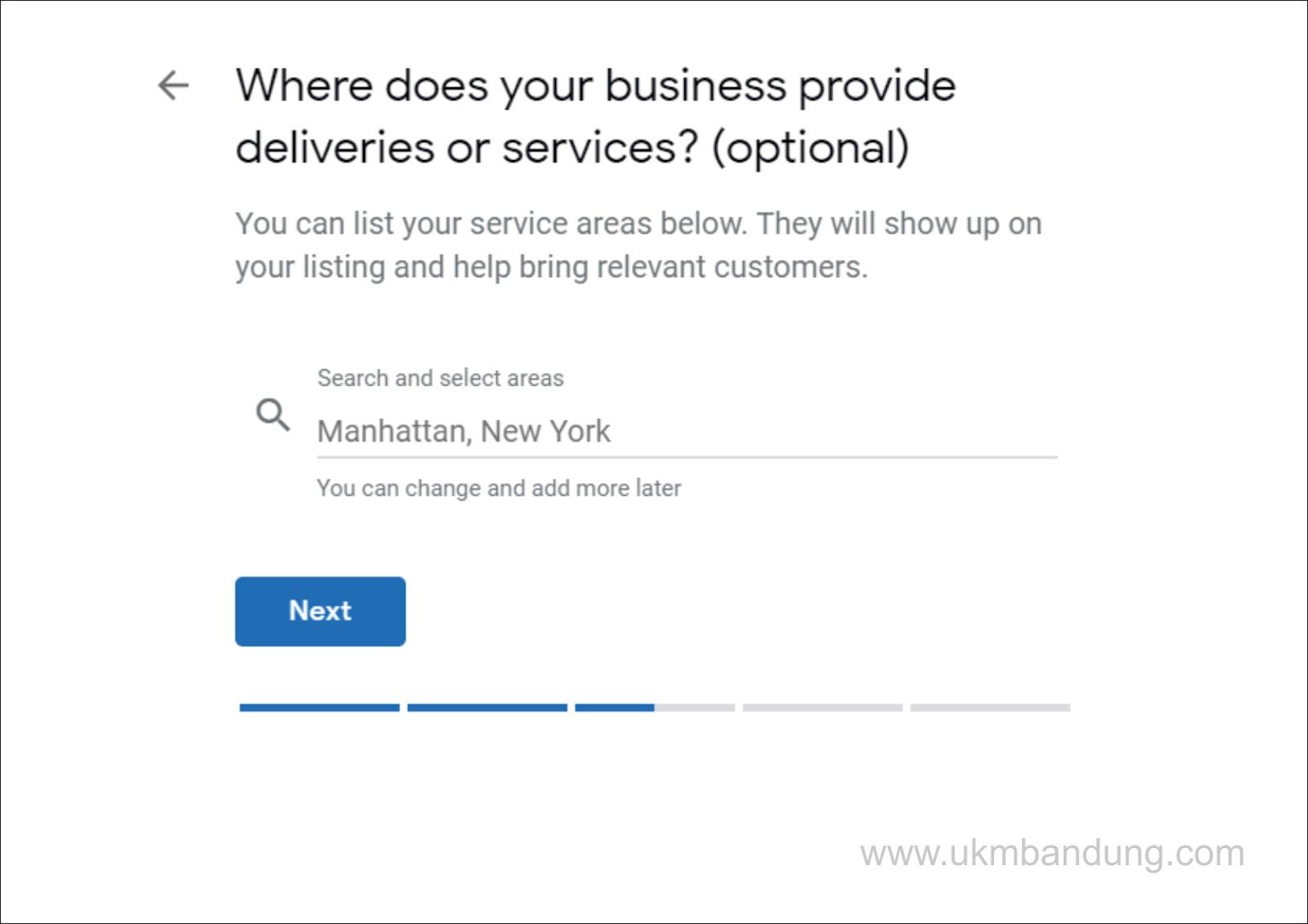 langkah ke-3 Trik Jitu Daftar Google My Business Agar Cepat Terverifikasi